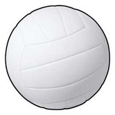 Sports Decorations Volleyball Cutout Image