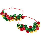 Christmas Favors & Prizes Metal Jingle Bell Bracelets Image