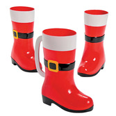 Christmas Table Accessories Santa Boot Mug Image