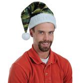 Christmas Hats & Headwear Velvet Camo Santa Hat Image