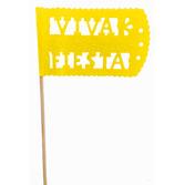 Cinco de Mayo Decorations Yellow Fiesta Flag Image