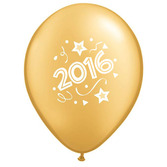 New Years Balloons Gold Happy 2016 Balloons Image