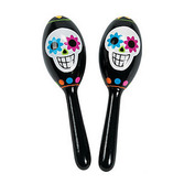 Day of the Dead Favors & Prizes Day of the Dead Maracas Image