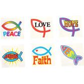 Religious Favors & Prizes Religious Tattoos Image