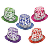 New Years Hats & Headwear Midnight Madness Top Hat Image