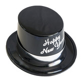 New Years Hats & Headwear Silver Legacy Topper Image