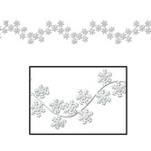 Christmas Decorations Winter Snowflake Garland Image