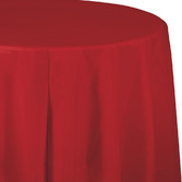 Valentine's Day Table Accessories Round Table Cover Red Image