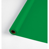 St. Patrick's Day Table Accessories 100' Table Roll Green Image