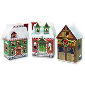 Christmas Decorations Christmas Village Favor Boxes Image