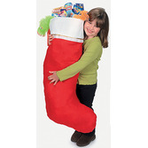 Christmas Decorations Jumbo Stocking Image