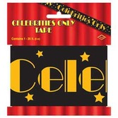 Awards Night & Hollywood Decorations Celebrities Only Party Tape Image