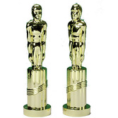 Awards Night & Hollywood Decorations Gold Award Statue Image