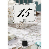 Wedding Decorations Numbered Cards Image