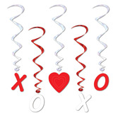 Valentine's Day Decorations Valentine Whirls Image
