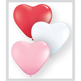 Valentine's Day Balloons Heart Shape Small Latex Balloons Image
