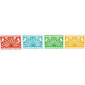 Cinco de Mayo Decorations Plastic Fiesta Cutout Garland Image