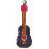 Cinco de Mayo Decorations Guitar Tin Ornament Image