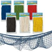 Luau Decorations Assorted Color Fish Net Image