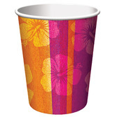Luau Table Accessories Aloha Summer Cups Image