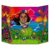 Luau Decorations Hula Girl Photo Prop Image
