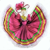 Cinco de Mayo Decorations Mini Folklorico Dancer Image