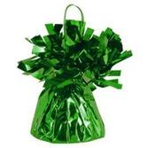 St. Patrick's Day Balloons Green Metallic Balloon Weight Image