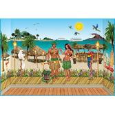 Luau Decorations Complete Luau Tropical Scene Image