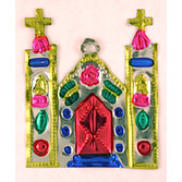 Cinco de Mayo Decorations Church Tin Ornament Image