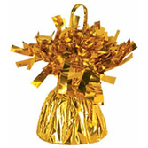 New Years Balloons Gold Metallic Balloon Weight Image