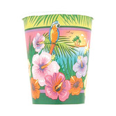 Luau Table Accessories Tropical Sunset Cups Image