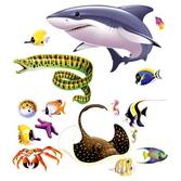 Luau Decorations Marine Life Props Image