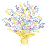 Baby Shower Decorations Baby Shower Burst Centerpiece Image