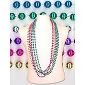"""Cinco de Mayo Party Wear 48""""  Metallic Bead Necklace Image"""