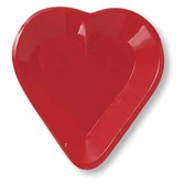 Casino Table Accessories Heart Mini Snack Tray Image
