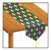 Mardi Gras Table Accessories Mardi Gras Table Runner Image