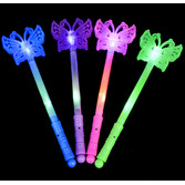 Glow Lights Flashing Butterfly Wand Image