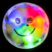 Glow Lights Light Up Smile Face Stickers Image