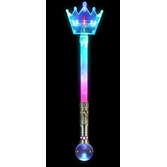 Glow Lights Light Up Crown Magic Wand Image
