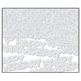 Anniversary Decorations Silver Anniversary Confetti Image