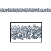 New Years Decorations Silver Festoon Garland Image