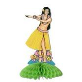 Luau Decorations Hula Girl Centerpiece Image