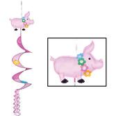 Luau Decorations Luau Pig Wind-Spinner Image