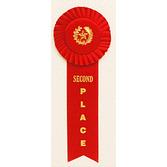 Favors & Prizes 2nd Place Rosette Ribbon Image