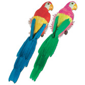 """Cinco de Mayo Decorations 20"""" Feathered Parrot Image"""