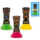 Luau Decorations Tiki Playmates Image