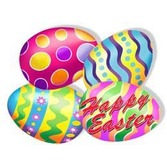 Easter Decorations Easter Egg Cutouts Image