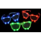 Fiesta Glow Lights Light Up Jumbo Sunglasses Image