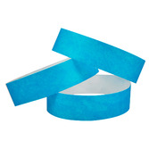 WB Tyvek Wristbands Light Blue Image
