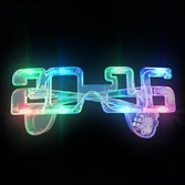 New Years Hats & Headwear 2016 Multicolor LED Flashing Glasses Image